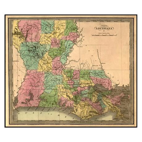 "Louisiana (13.5""W x 11.5""H)"