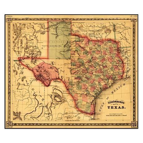 "Texas (13.5""W x 11.5""H)"