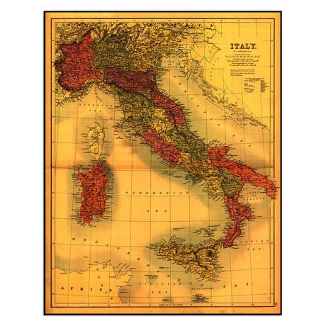 """Italy (9""""W x 11.5""""H)"""