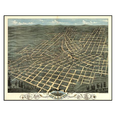 "Atlanta, 1871 (12.75""W x 10""H)"