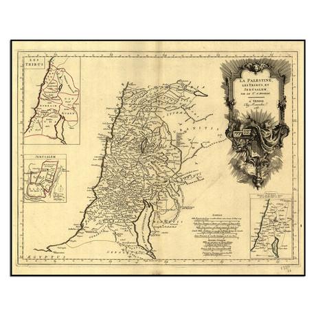 "Holy Land, 1783 (12""W x 9.5""H)"