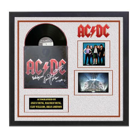 AC/DC Signed Album // Black Ice