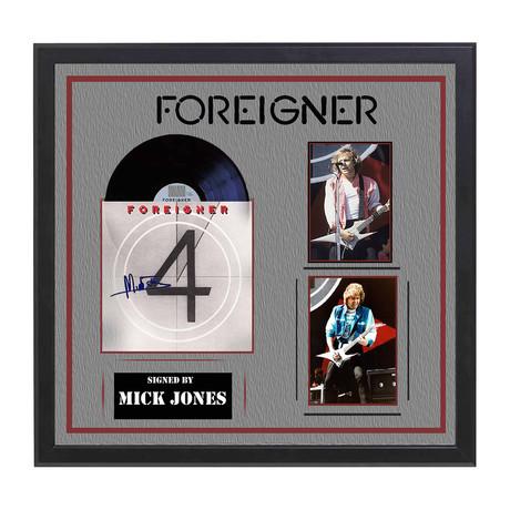 Autographed '4' Album Collage // Foreigner
