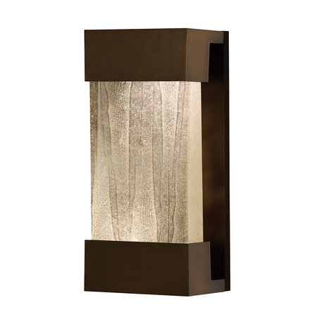 """Crystal Bakehouse Sconce // Linear Bronze (14"""")"""