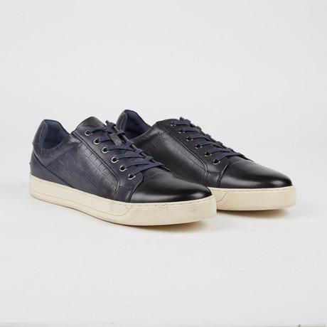 Bernes Low-Top Sneaker // Navy