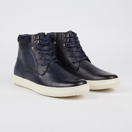 Shadworth Mid-Top Sneaker // Navy (US: 7)