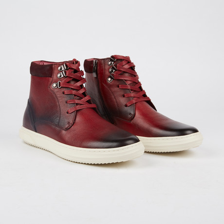 Shadworth Mid-Top Sneaker // Red (US: 7)