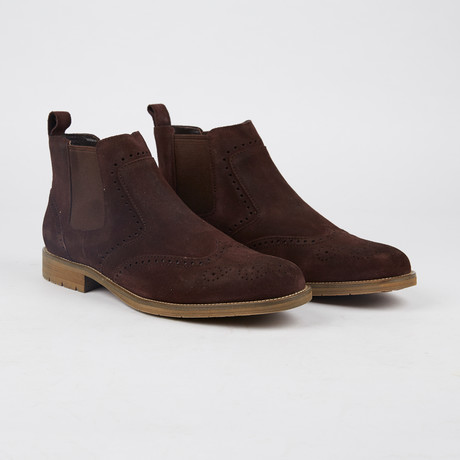 Moore Wing-Tip Chelsea // Coffee Bean (US: 7)