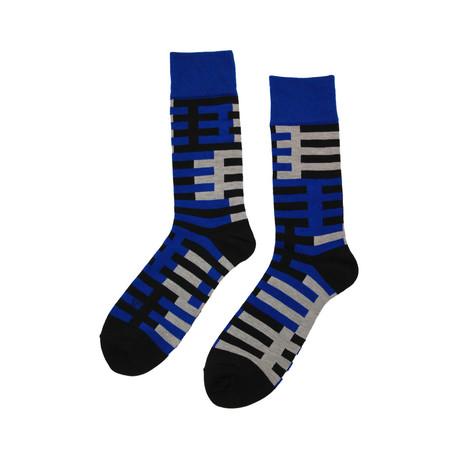 Axioma Socks // Cobalt