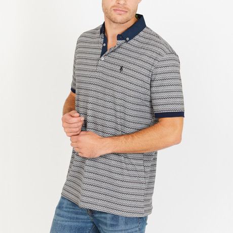 Jasper Slim Fit Polo Shirt // Taupe