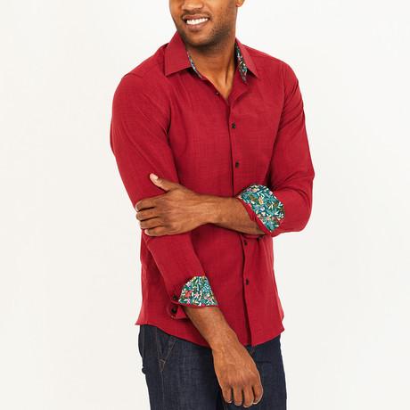 Daniel Button-Up Shirt // Red (S)