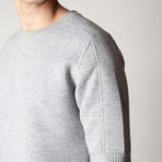 Ribbed Arc Jumper // Gray (S)