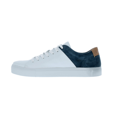 Two-Tone Sneaker // White + Jeans