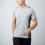 Breaker Fitness Tech T-Shirt // Charcoal + Grey // Pack of 2 (S)