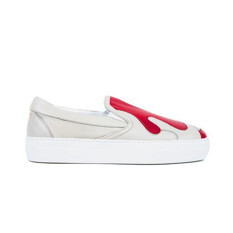 Mercury Camo Sneakers // Lamb + Rosso
