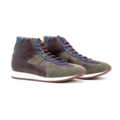 Juventas Sneakers // Karibu+ Blue + Bordeaux (US: 7)
