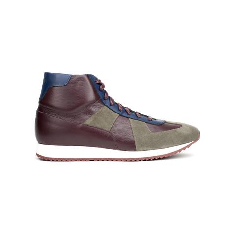 Juventas Sneakers // Karibu+ Blue + Bordeaux