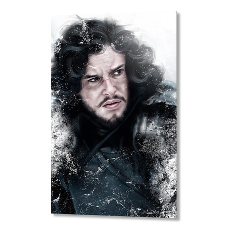The King In The North // Aluminum Print
