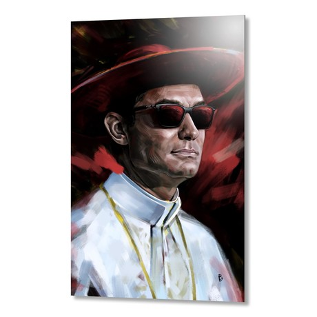 The Young Pope // Aluminum Print
