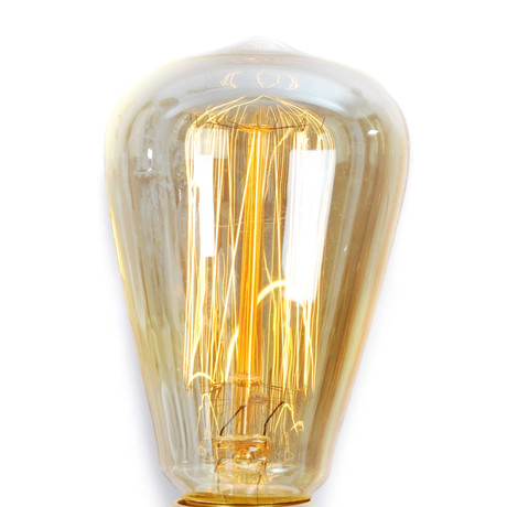 Retro Style Edison Incandescent Bulb // Set of 8