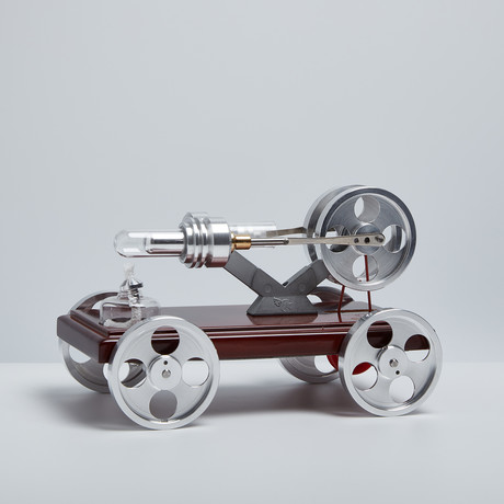 Stirling Engine Car