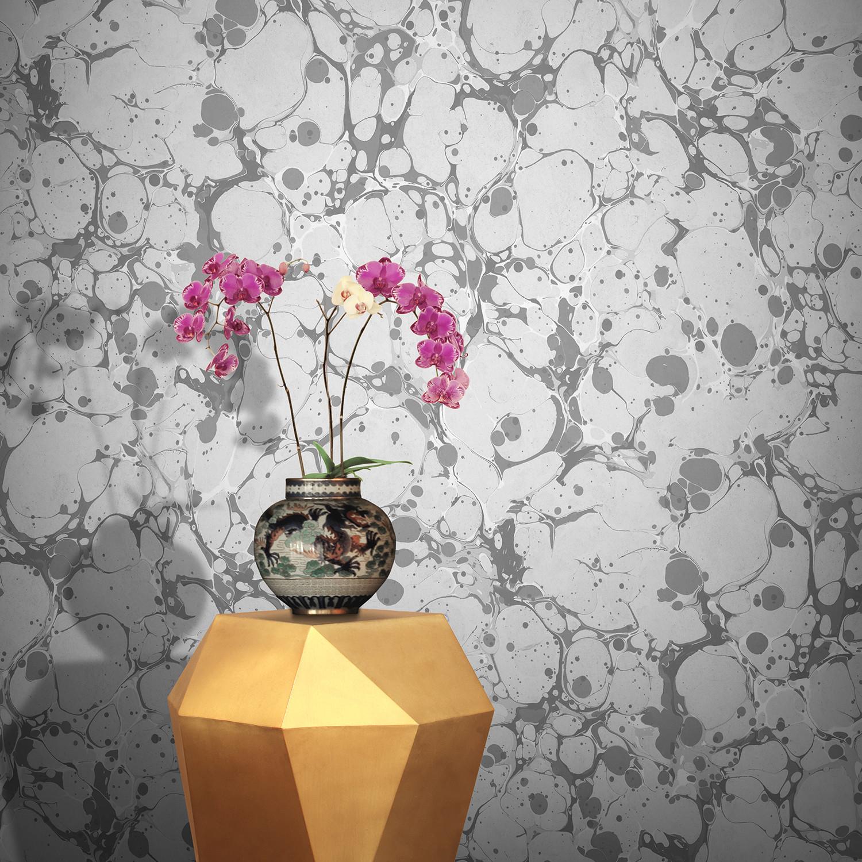 Neural wallpaper slate feathr touch of modern neural wallpaper slate floridaeventfo Images