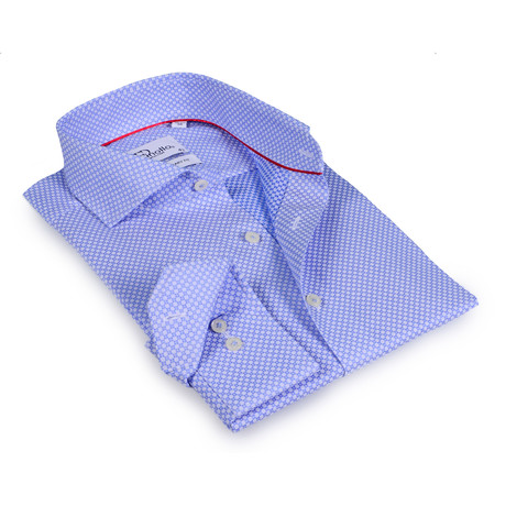 Gerard Button-Up Shirt // Blue (US: 19R)
