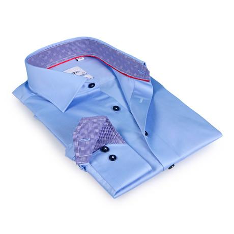 Georgetown Button-Up Shirt // Light Blue (US: 15R)