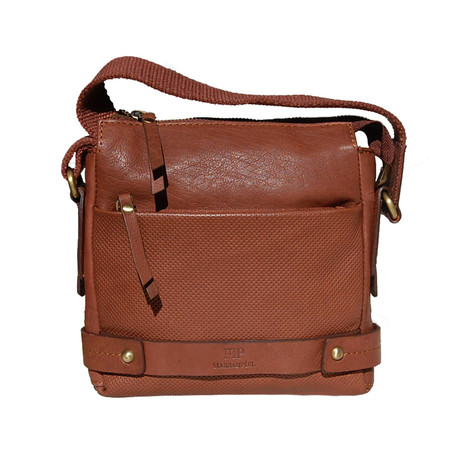 Gallard Embossed Satchel // Cureo
