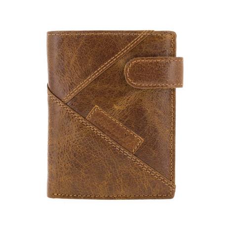 Tall Alton Bifold Wallet + Interior Pocket // Cuero