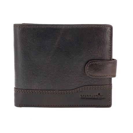 Stump Dover Wallet + Pocket Back // Dark Brown