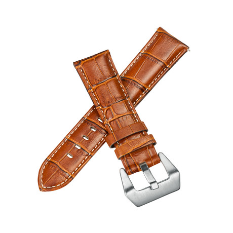 Aeromeister Strap // Cognac Croco Leather // S01