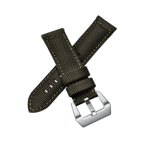 Aeromeister Watch Strap // Military Canvas Green // S07