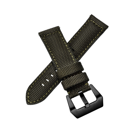 Aeromeister Watch Strap // Military Canvas Green // S08