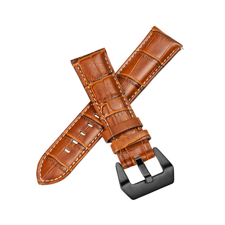 Aeromeister Strap // Cognac Croco Leather // S02