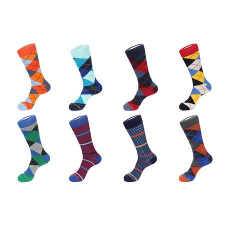 Dress Socks // Fancy Pants // Pack Of 8