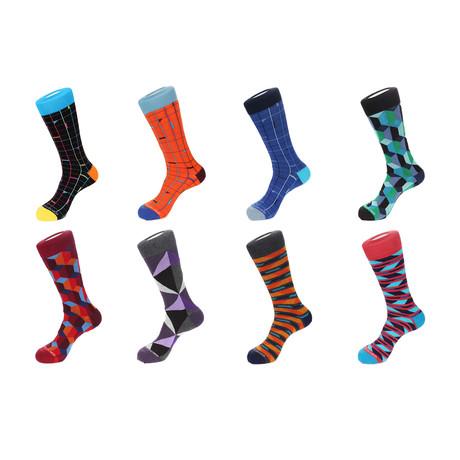 Dress Socks // Double Down // Pack of 8