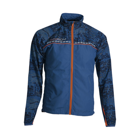 Race Jacket // Blue (L)