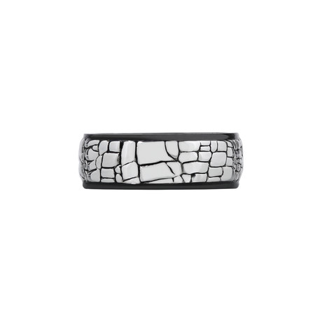Shiny Stone Wall Ring