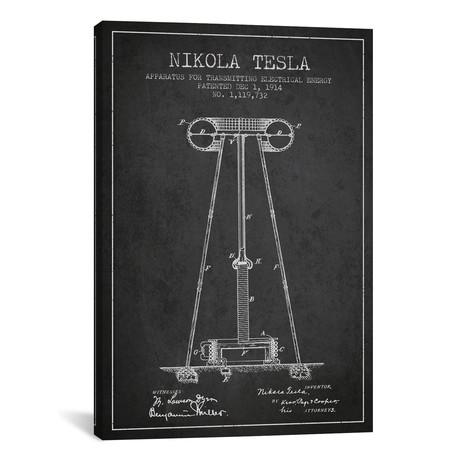 """Tesla Apparatus Energy Blueprint (18""""W x 26""""H x 0.75""""D)"""
