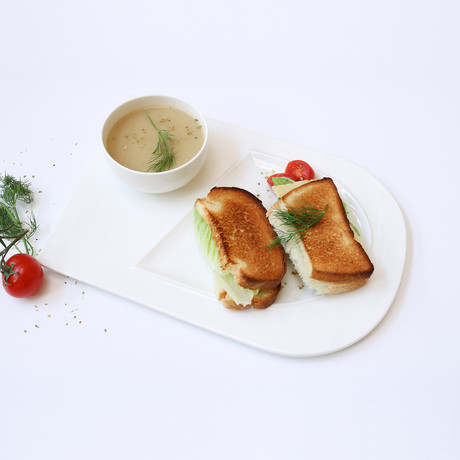 Soup + Sandwich // Set of 4