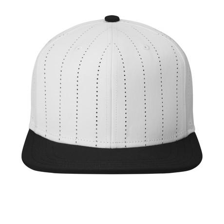 Brody Flat Brim Snapback Baseball Cap