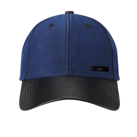 Chad Strapback Baseball Cap // Blue + Black