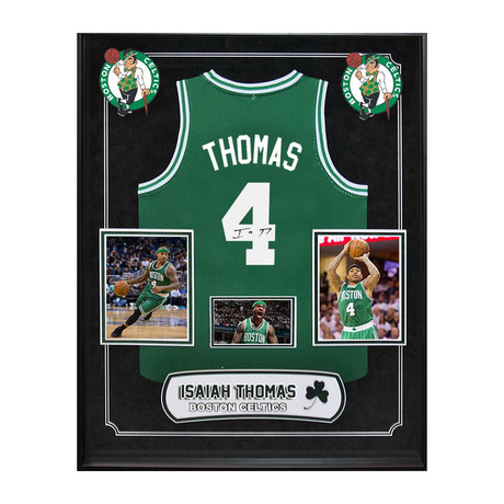 Framed + Signed NBA Jersey // Isaiah Thomas