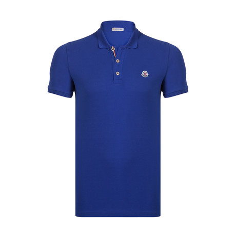 Short Sleeve Solid Polo // Royal Blue
