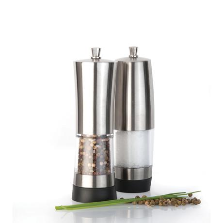 Geminis Salt + Pepper Mill Set