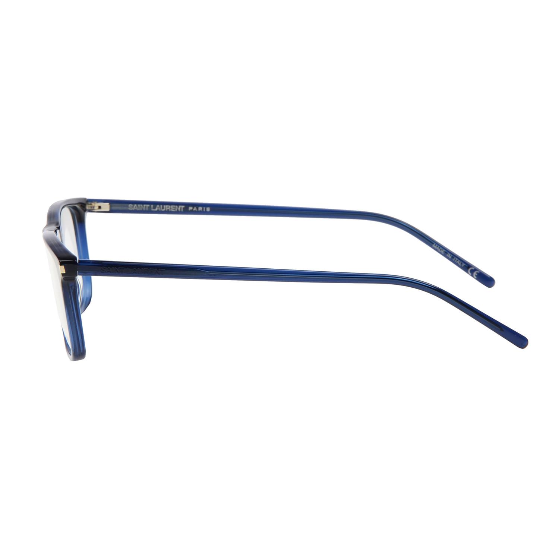 Saint Laurent Thin Framed Wayfair Transparent Blue