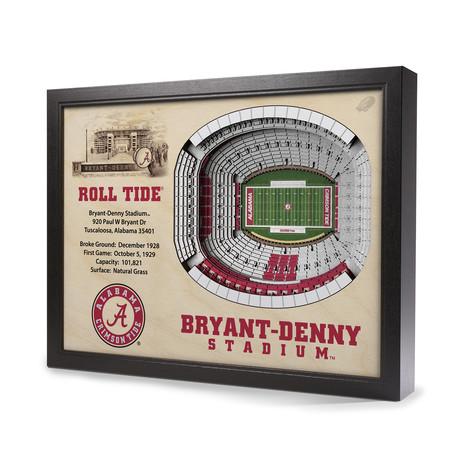 Alabama Crimson Tide // Bryant-Denny Stadium