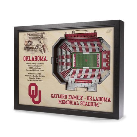 Oklahoma Sooners // Gaylord Family Oklahoma Memorial Stadium