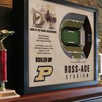 Purdue Boilermakers Football Wall Art (25 Layer)